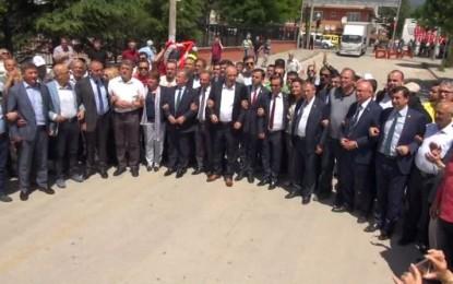 CHP'liler Bolu Valiliği'ne Yürüdü