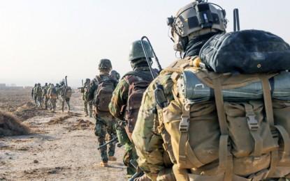 Amerikan Özel Kuvvetleri Türk Birliklerine Destek Verdi