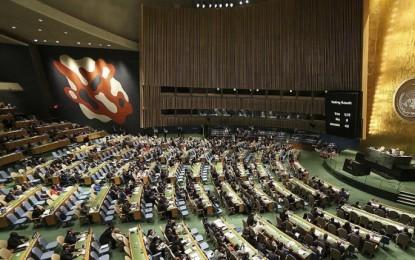 New Yorklular BM Genel Kurulu'nu Bekliyor
