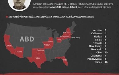 İstihbarat Doğruysa; FETÖ, ABD'de 128 Yeni Okul Açmak İçin Dilekçe Verdi
