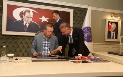 Cumhurbaşkanı Erdoğan'dan Kahraman Kazan'a ziyaret