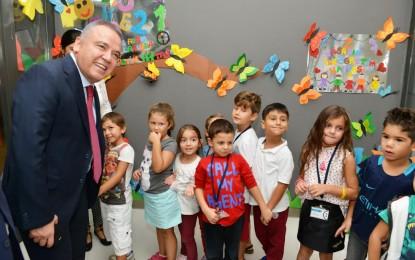 Başkan Böcek'ten BilgeAdam'a Ziyaret
