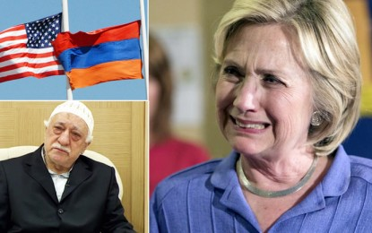 ABD'deki Ermeni Diasporası ve FETÖ, Trump'ın Zaferi ile Hüsrana Uğradı