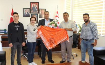 İzmir'in Ahmetli Köylüleri'nden Başkan Alter'e Ziyaret