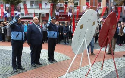 Atatürk Vefatının 78. Yıl Dönümünde Törenlerle Anıldı