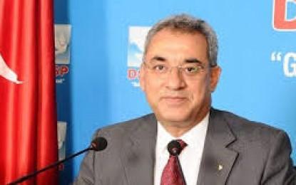 Erdoğan DSP Genel Başkanlığı'na Yeniden Seçilen  Aksakal'ı Tebrik etti