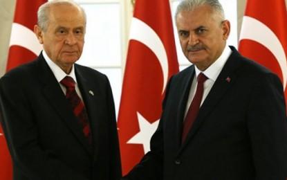 Yeni Anayasanın taslak metni MHP'de