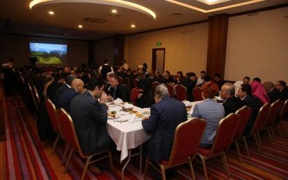 """1. Uluslararası Türk Arap İşdünyası Zirvesi"""" Ordu'da Yapıldı"""