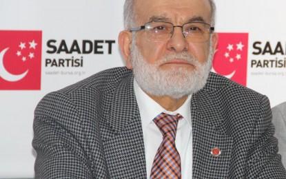 """Saadet Partisi Genel Başkanı Karamollaoğlu'ndan sert beyanat: """"Allah'tan kork"""""""