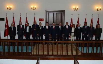 Ankara Valisi Ercan Topaca, Siyasi Parti İl Başkanları İle Bir Araya Geldi
