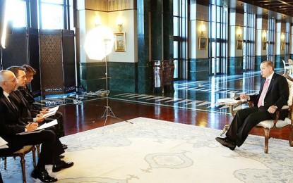 Cumhurbaşkanı Erdoğan: Harekat Öncesi Rusya, ABD ve K.Irak'ı Bilgilendirdik