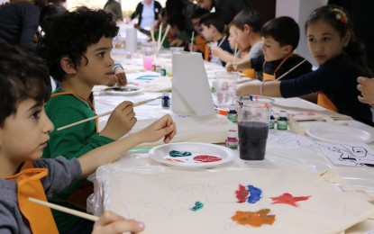 İÇEM Vakfı 23 Nisan Kapsamında Çocuklarla Bir Araya Geldi