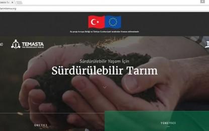 AB-TR Sürdürülebilir Tarım Ağı Projesini Başlattı
