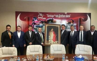 TÜKSİAD'dan Konya Şeker'e ziyaret