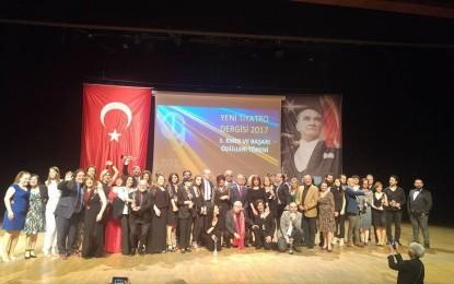 """Nilüfer Belediyesi """"Tiyatro""""ya  Emek Ödülü"""