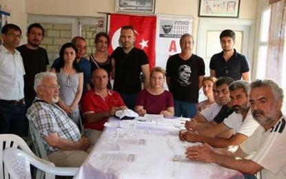 ADD Tarsus Şube başkanı M.Banu Ertoprak  barış temalı açıklama yaptı
