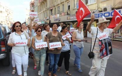 CHP Tarsus İlçe Teşkilatı  Adalet için yürüdü