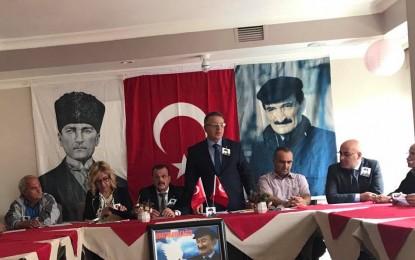 Tokat İl Başkanı Alpay, DSP Genel Başkan adayı olduğunu ilan etti