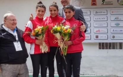 Bursalı Sporcu  Bahar Atalay'dan ülkemize  gümüş madalya