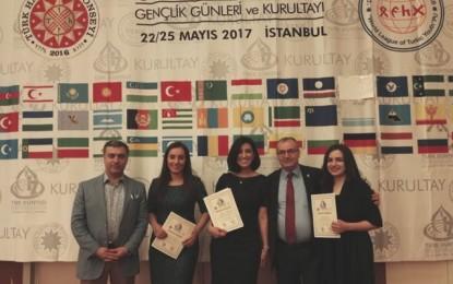 Türk Dünyası Gençlik Günleri  Kurultayı İstanbul'da toplandı