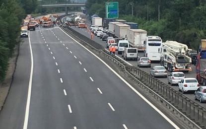 SASKİ'den Trafik Kazasına Anında Müdahale
