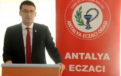 Antalya Eczacı Odası Yönetim Kurulu Başkanı Ecz. Tolgar Akkuş, İnternet'te Satışı Yapılan İlaç Formundaki Ürünler Kontrolden Uzaktır