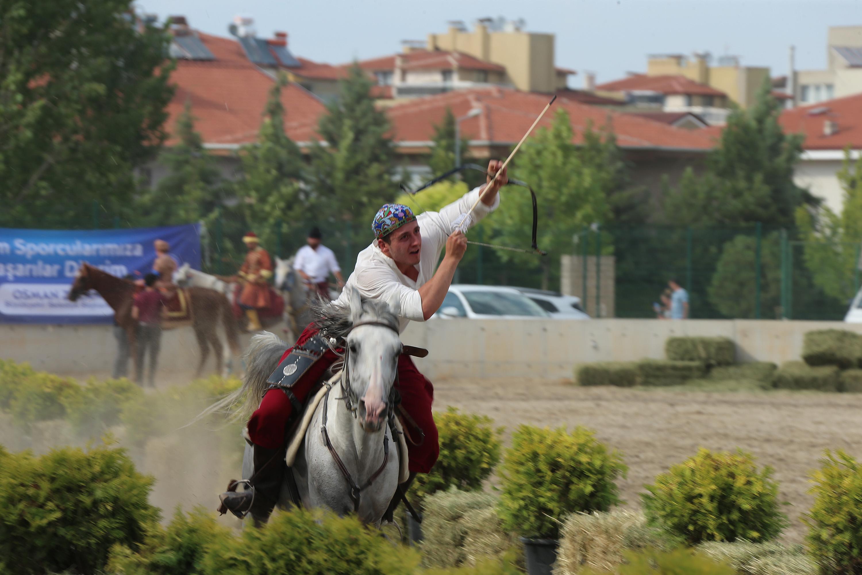 Denizli'de Atlı Okçuluk Türkiye Şampiyonası heyecanı (4)