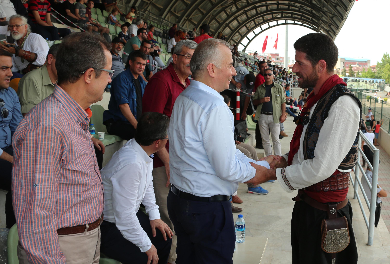 Denizli'de Atlı Okçuluk Türkiye Şampiyonası heyecanı (5)