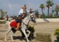 Denizli'de Atlı Okçuluk Türkiye Şampiyonası heyecanı yaşandı