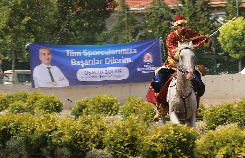 Denizli'de Atlı Okçuluk Türkiye Şampiyonası heyecanı (7)