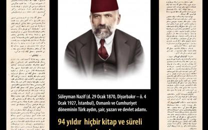 """Süleyman Nazif Bey'in; """"Mustafa Kemal Paşa"""" itirafı"""