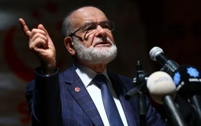 Saadet Partisi Genel Başkanı Karamollaoğlu: Kimse hazırlanmasın diye hükümet baskın seçim yapacak