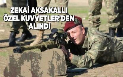 Aksakallı'dan boşalan Özel Kuvvetler Komutanlığı'na Tuğgeneral Ahmet Ercan Çorbacı getirildi