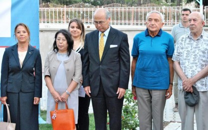 Japonya Başkonsolosu'ndan Başkan Eşkinat'a mektup