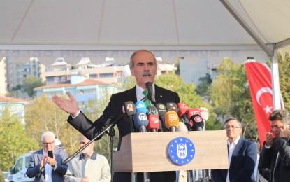 Örnek Belediye Başkanı Altepe, önce açılış yaptı sonra istifa etti
