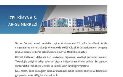 İzel Kimya A.Ş Kendi Alanında Bir İlke İmza Atarak Türkiye'nin Gururu Oldu