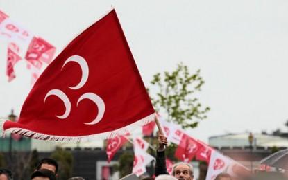 MHP ANTALYA; CHP teröriste değil devlete sahip çıksın
