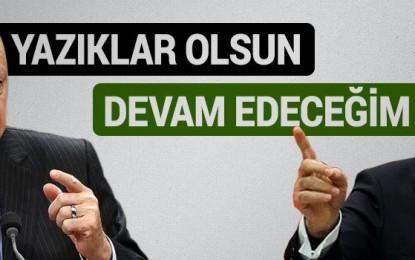 Erdoğan'dan Gül'e ve Arınç'a zehir zemberek sözler: Yazıklar olsun