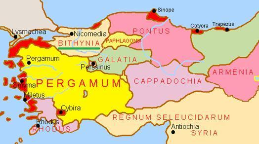 bithnynia haritası