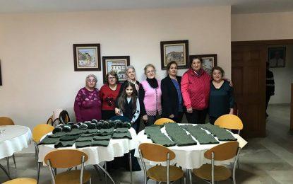 Tarsus'ta Cumhuriyet Kadınlarından Askere Hediye