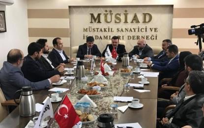 Antalya Büyükşehir Başkanı Menderes Türel'den MÜSİAD'a Ziyaret