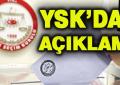YSK Seçime Katılma Yeterliliğine Sahip Partileri Açıkladı!