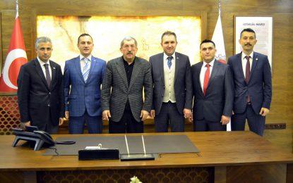 Türk Sağlık-Sen Karabük Şubesinden Başkan Vergili´ye Ziyaret