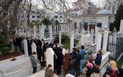 Sultan 2. Abdülhamid Han vefatının 100. yıl dönümünde Türbesi Başında Anıldı