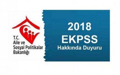 Aile Bakanlığı Teşkilatından EKPSS Başvuru Duyurusu!