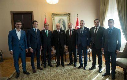 Çamlıyayla MHP ilçe teşkilatı, MHP Lideri Devlet Bahçeli'ye Sürpriz