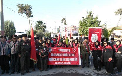 Büyük önder Atatürk'ün Tarsus'a gelişinin 95. Yılı törenle kutlandı