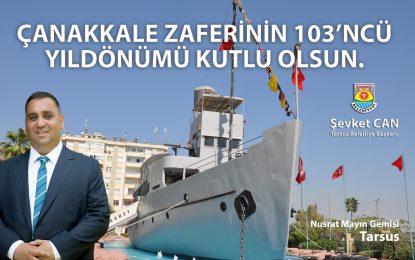 """Başkan Can, """"Bir Destandır Çanakkale"""""""