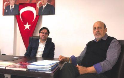 İlhan KARAÇAY, Hollanda Ülkücüleri'nin lideri Murat Gedik ile konuştu