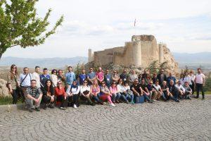"""Elazığ Belediyesi ve Çekül Akademi işbirliği ile """" Kültürel ve Kentsel Mirası Korumada Yetkinlik"""" Programı Devam Ediyor"""